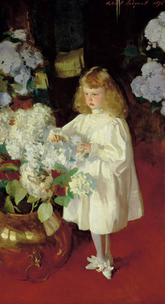 Wall Art - Painting - Helen Sears, Circa 1895 by John Singer Sargent
