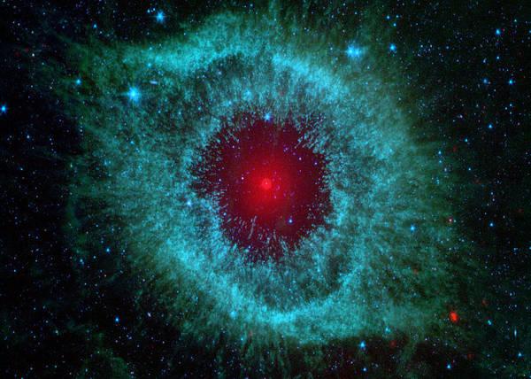 Wall Art - Digital Art - Helix Nebula by Filip Hellman