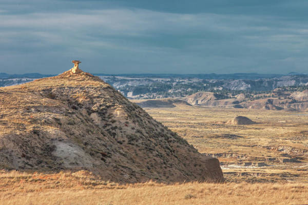 Wall Art - Photograph - Hell Creek Badlands by Todd Klassy