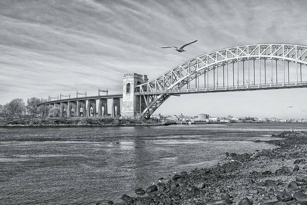 Photograph - Hell Gate In Silver by Cate Franklyn