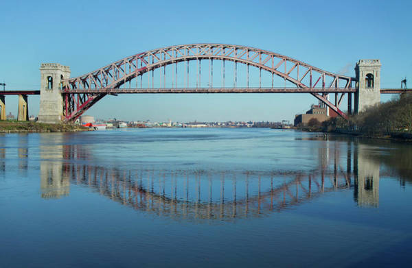 Photograph - Hell Gate Reflection by Cate Franklyn