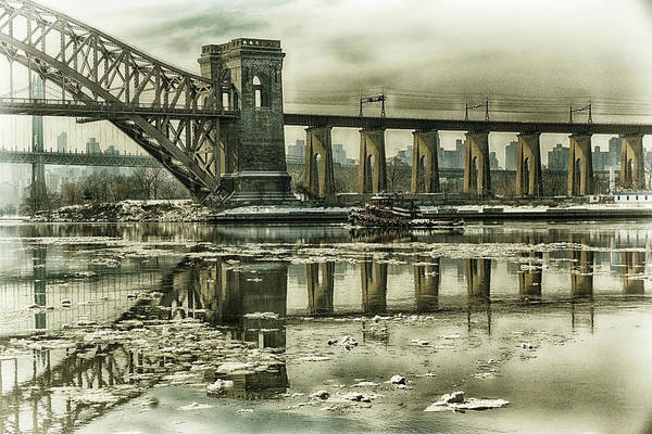 Photograph - Hell Gate Reflections by Cate Franklyn