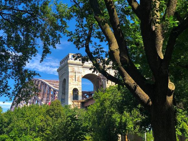 Photograph - Hell Gate Through The Trees by Cate Franklyn