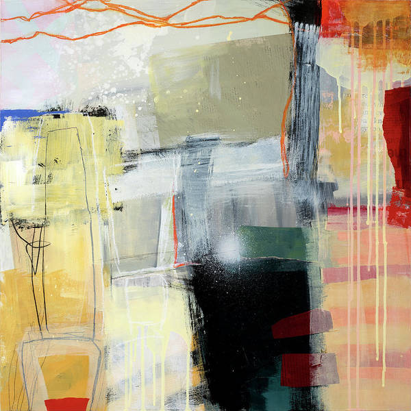 Wall Art - Painting - Hell Or High Water #4 by Jane Davies