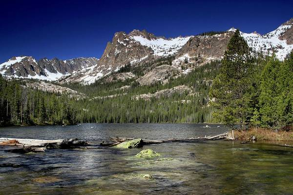 Photograph - Hell Roaring Lake Sawtooth Wilderness by Ed  Riche
