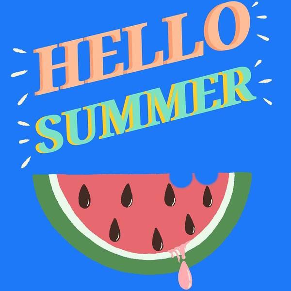 Wall Art - Digital Art - Hello Summer by Liselle Harry