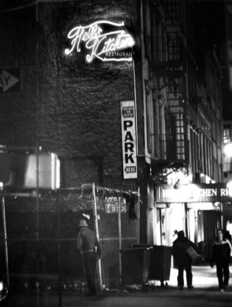 Hells Kitchen Wall Art - Photograph - Hells Kitchen Restaurant On Ninth by New York Daily News Archive