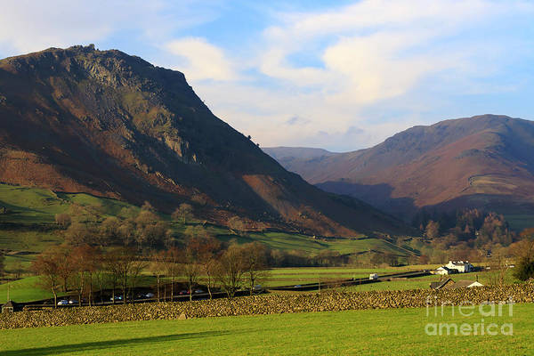 Wall Art - Photograph - Helm Crag And Wythburn Fells Above Grasmere In The Lake District by Louise Heusinkveld