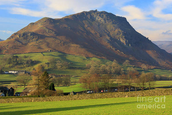 Wall Art - Photograph - Helm Crag Near Grasmere In The Lake District National Park by Louise Heusinkveld