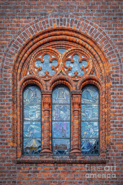 Wall Art - Photograph - Helsingor Town Hall Window by Antony McAulay