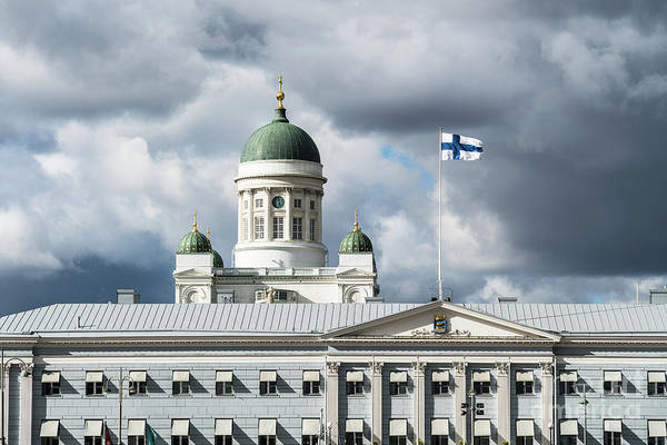 Photograph - Helsinki Cathedral by Didier Marti