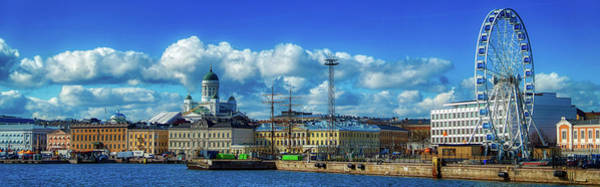 Wall Art - Photograph - Helsinki Panorama by Pixabay