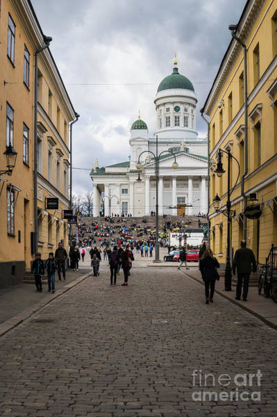 Photograph - Helsinki Streets by Didier Marti