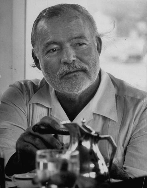 Latin America Photograph - Hemingway At Fishing Tournament by Alfred Eisenstaedt