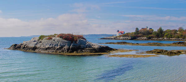 Photograph - Hendricks Head Lighthouse Panorama by Bill Cannon