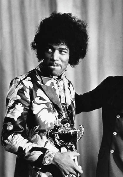 Jimi Hendrix Photograph - Hendrix Award by Express