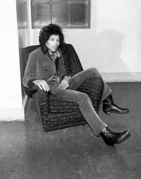 Jimi Hendrix Photograph - Hendrix In England by Michael Ochs Archives