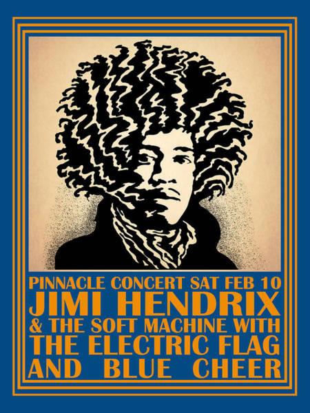 Photograph - Hendrix Pinnacle Concert by Mark Rogan