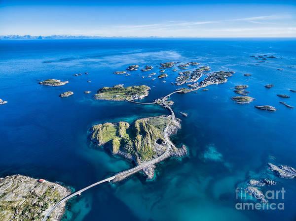 Town Wall Art - Photograph - Henningsvaer, Fishing Port On Lofoten by Harvepino