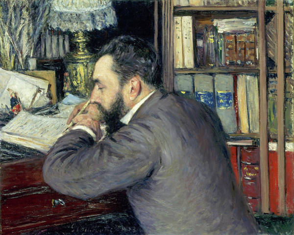 Wall Art - Painting - Henri Cordier - Digital Remastered Edition by Gustave Caillebotte