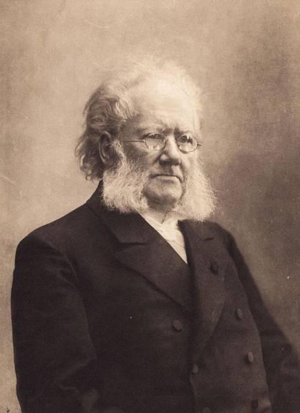 Poet Photograph - Henrik Ibsen by Hulton Archive