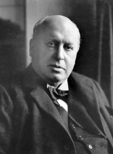 James Photograph - Henry James by Reginald Haines