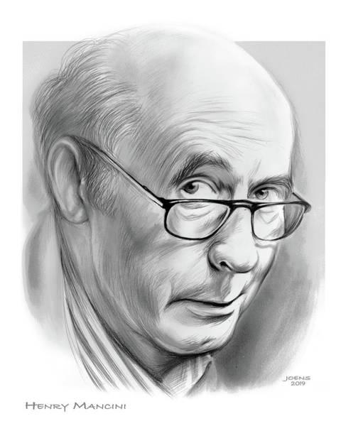 Drawing - Henry Mancini by Greg Joens