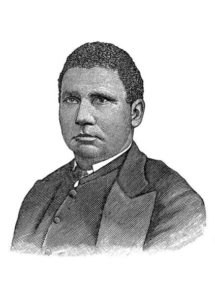 Wall Art - Photograph - Henry Mcneal Turner, American Minister by Science Source