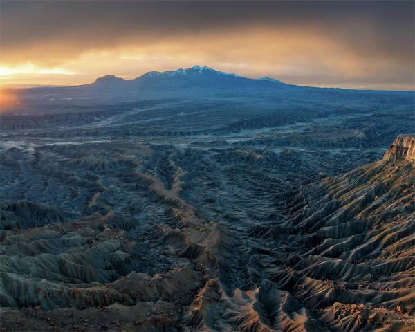 Photograph - Henry Mountain Sunrise by Dustin LeFevre