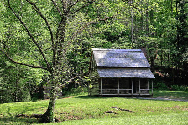 Photograph - Henry Whitehead Cabin by Nicholas Blackwell