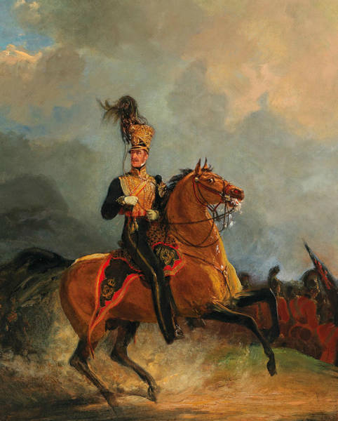 Painting - Henry William Paget, Lord Uxbridge by Jan Willem Pieneman