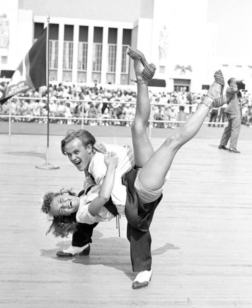 Contest Photograph - Hepcats James Brennan And Tessie Fekan by New York Daily News Archive
