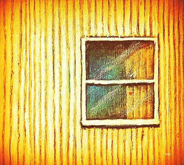 Painting - Her Window -  Her  Soul by VIVA Anderson