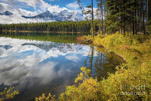 Canadian Rockies Wall Art - Photograph - Herbert Lake by Inge Johnsson