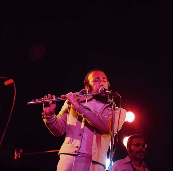 Herbie Mann Performs At Newport Art Print