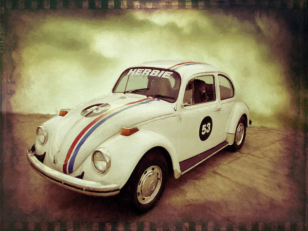 Digital Art - Herbie by Rick Wicker