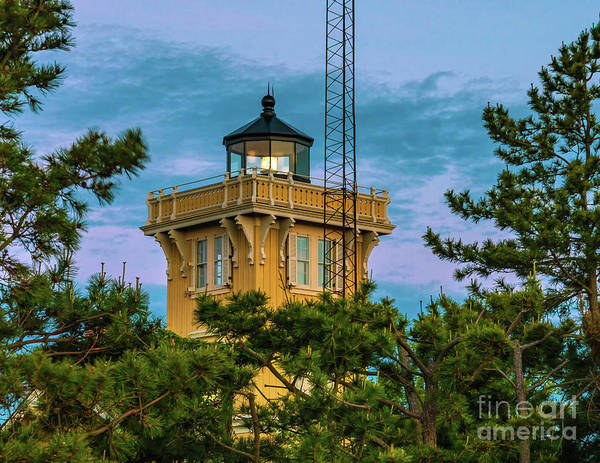 Photograph - Hereford Inlet Lighthouse 2019-2 by Nick Zelinsky