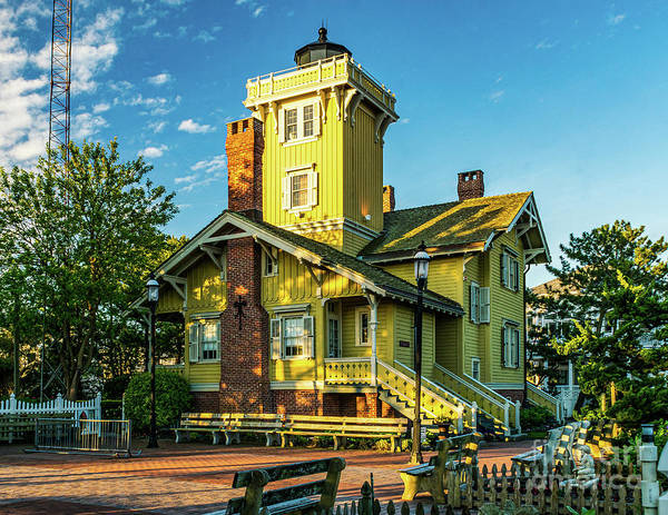 Photograph - Hereford Inlet Lightouse 2019-1 by Nick Zelinsky