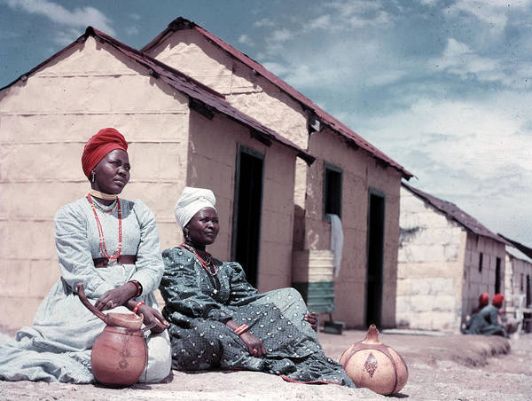 Indigenous People Photograph - Herero Tribeswomen by Margaret Bourke-white
