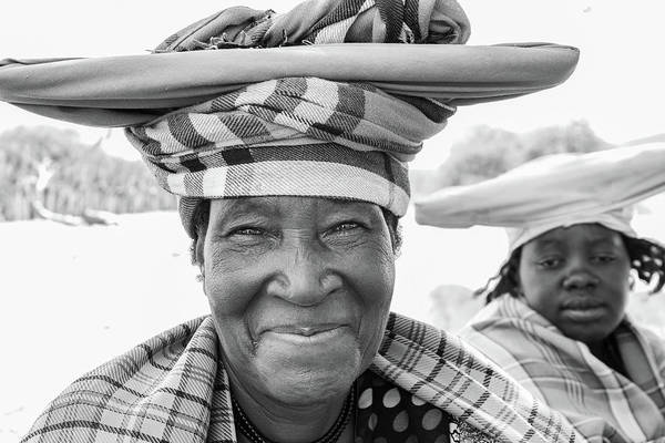 Photograph - Herero Woman  by Mache Del Campo