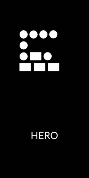 Digital Art - Hero Morse Code- Art By Linda Woods by Linda Woods
