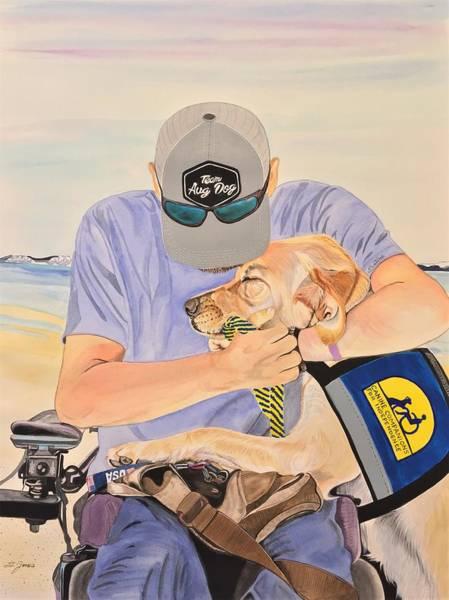 Painting - Hero's Hero by Sonja Jones