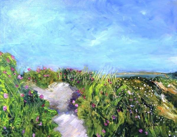 Painting - Herring Cove Flowering Dune by Michael Helfen