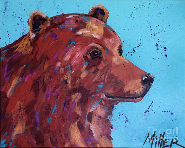 Wall Art - Painting - He's A Softie by Tracy Miller