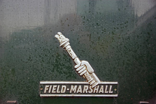 Photograph - Heskin Vintage Rally.  Field Marshall Logo. by Lachlan Main