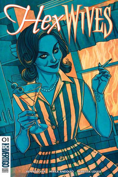 Wife Digital Art - Hex Wives 1  Dc by Geek N Rock