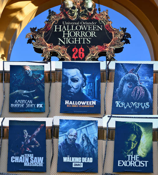 Wall Art - Photograph - Hhn 26 Line Up And Tribute by David Lee Thompson