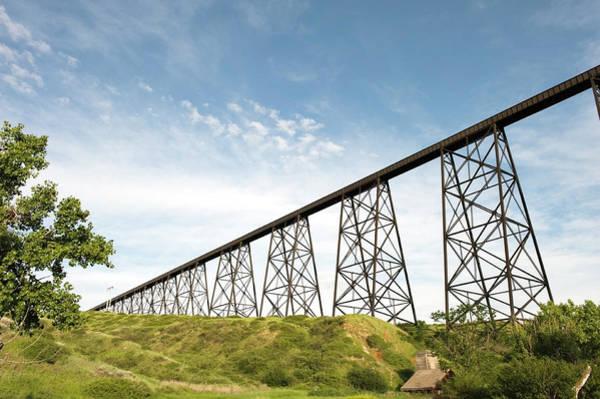 Lethbridge Photograph - Hi-level Bridge by Jmoor17