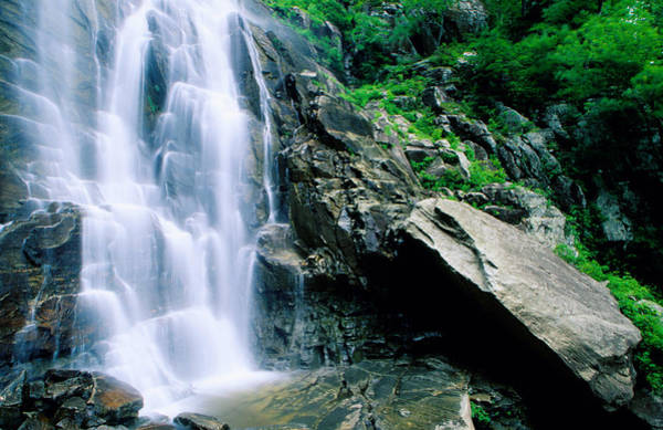 North Carolina Waterfalls Photograph - Hickory Nut Falls, Chimney Rock Park by Richard Cummins