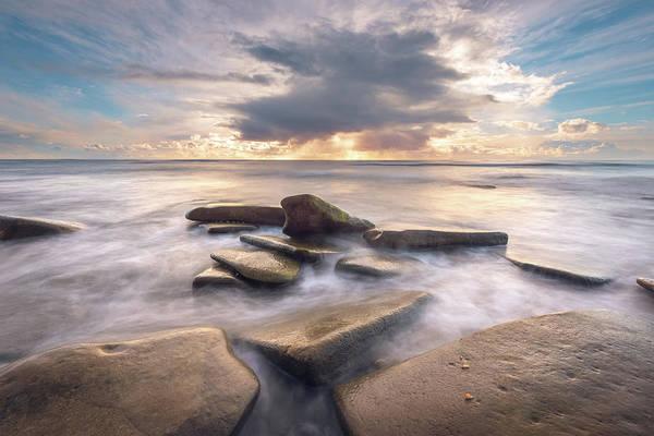 Photograph - Hidden Beach Sunset by Alexander Kunz